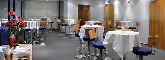 Gruppenlogen - VIP-Bereich für bis zu 120 Personen